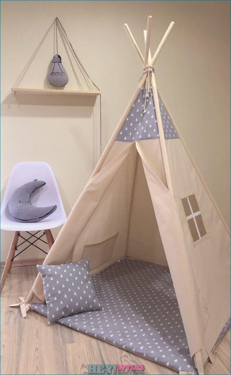 Sewing A Teepee A Creative Idea For The Nursery Heystyles Diy Teepee Baby Room Decor Teepee