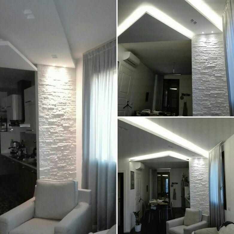 Living illuminazione progetto luce casa cliente a rimini - Idea luce illuminazione ...