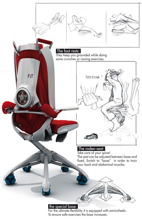 Incredible Office Chair By Benjamin Cselley Inovasyon Koltuklar