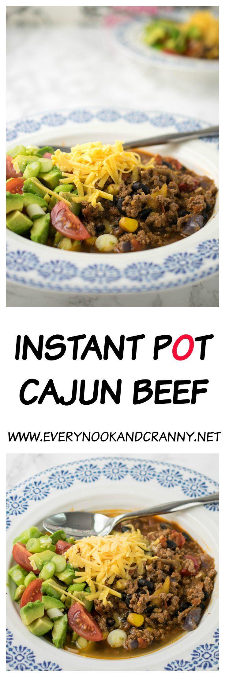 Instant Pot Cajun Beef - Every Nook & Cranny   Recipe ...