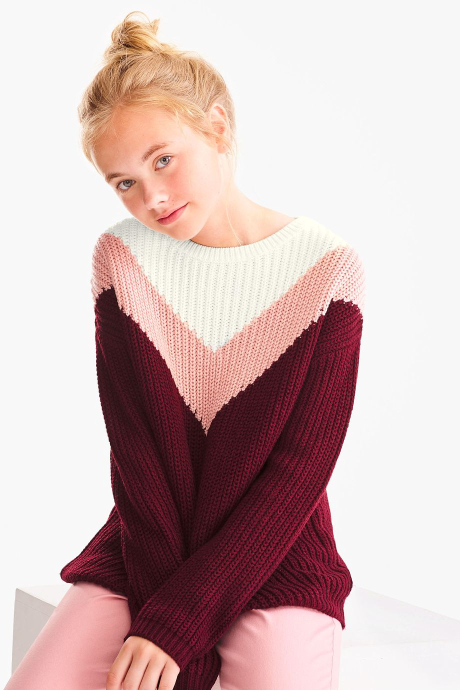 Pullover Madchen Pullover Pullover Lassiger Look