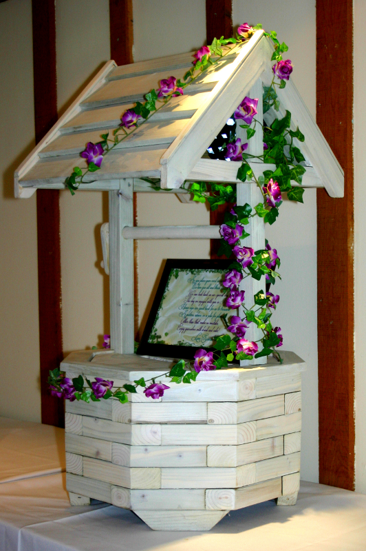 Wishing Well Postbox For Weddings In Hertfordshire Shown Here At Tewin Bury Farm Welwyn