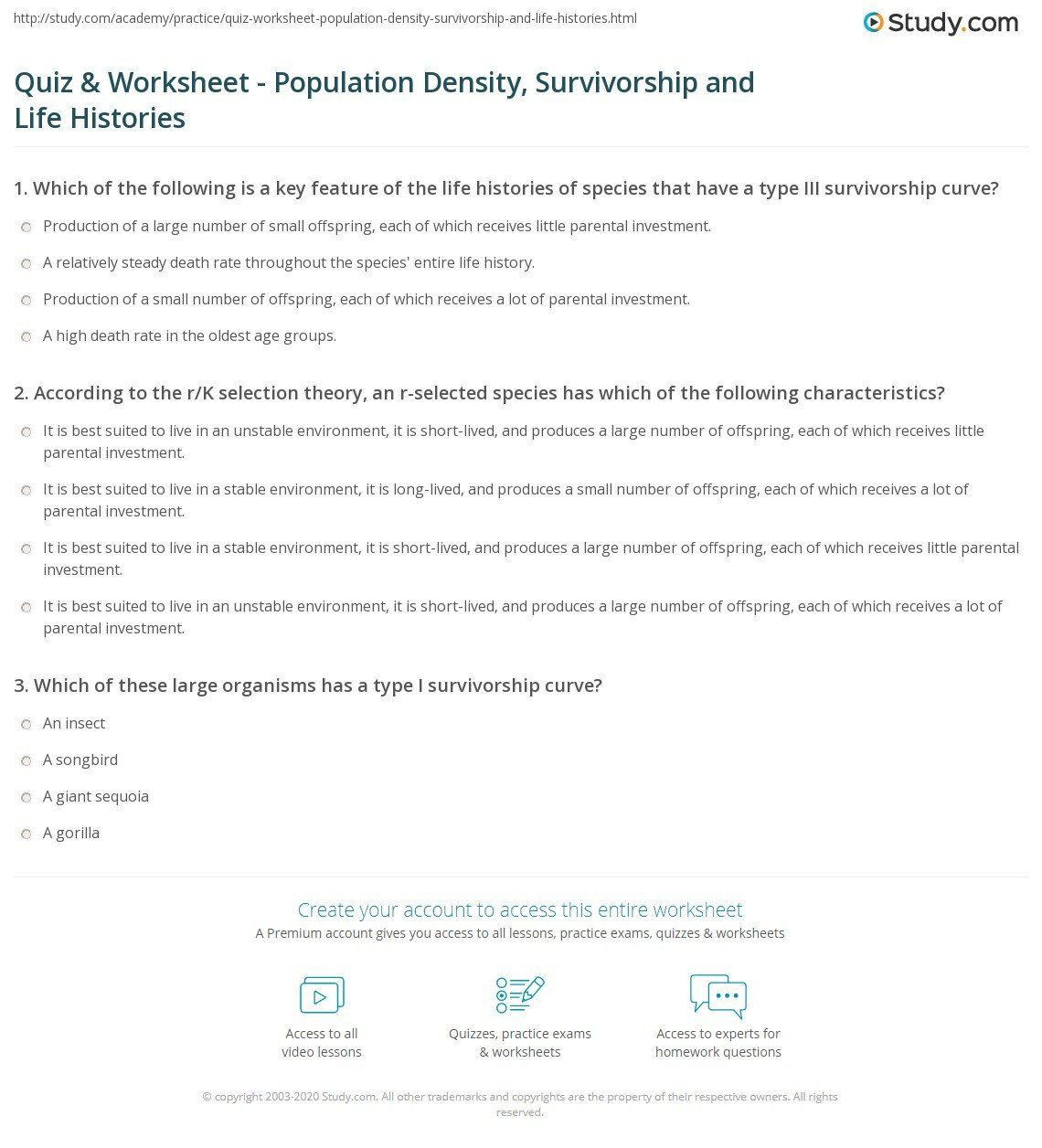 Population Density Worksheet Answers Population Growth Curves Worksheet Density Worksheet Worksheets Answers