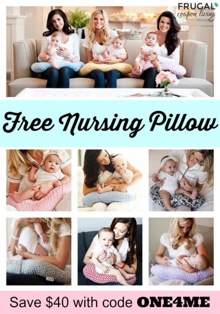 Free Nursing Pillow With Code One4me Free Nursing Pillow Nursing Pillow Free Baby Stuff