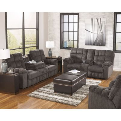Show details for 3PC Slate Reclining Sectional