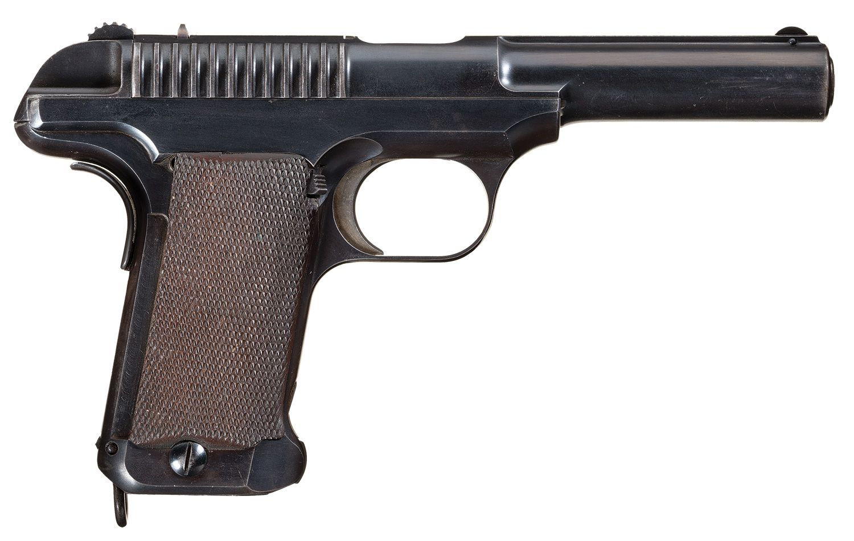 "Rare Savage Arms Company Model 1907 ""U.S. Army"" Semi-Automatic Test Pistol…"