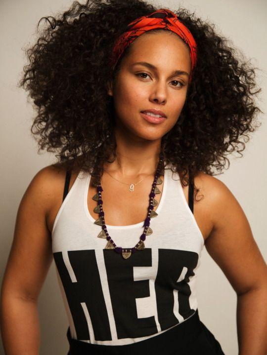 Alicia Keys Beleza Da Mulher Negra Penteados Naturais Looks