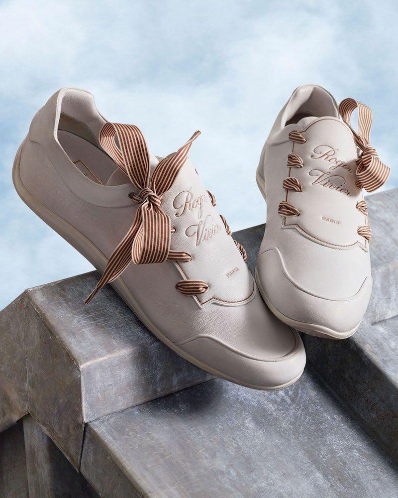 Roger Vivier Sporty Viv Etiquette Sneaker  rogerviviersneakers ... 2190050661c3e