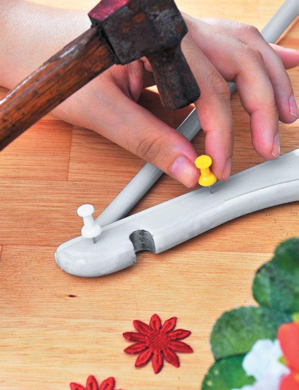 Aprenda a fazer um porta-joia com cabide   to do list 8e2f434342