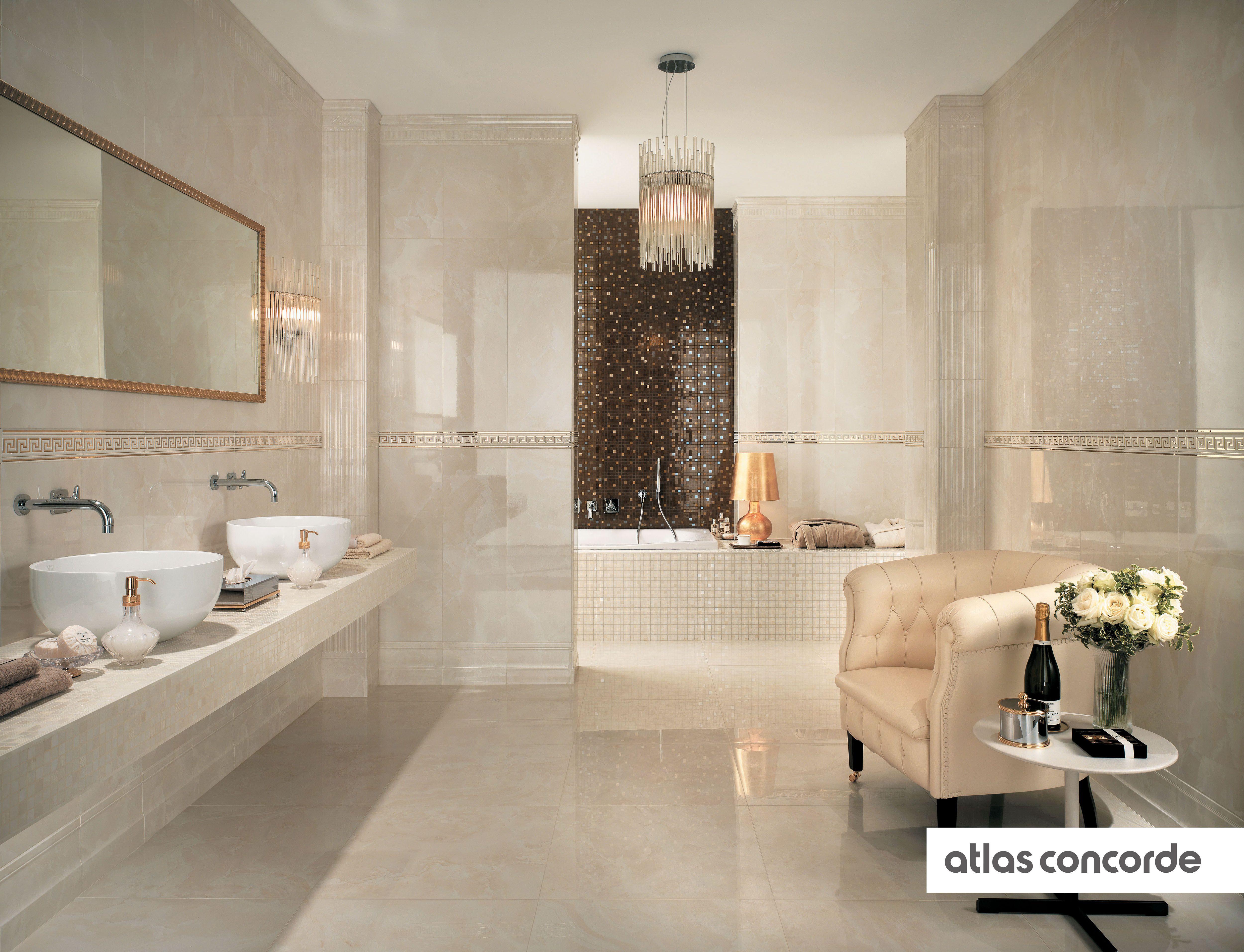 #MARVEL Champagne And Bronze | #AtlasConcorde | #Tiles | #Ceramic | #