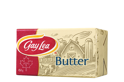 """North American butter is usually sweet cream (which doesn't mean unsalted) and 80% butterfat.  Butter in Europe is usually cultured and has a higher fat content.  There is no legal or standard definition of """"European style butter"""".  It could mean cultured, or high-fat, or both.  One thing Wiki doesn't know:  Canadian butter is always sold in 454 g pkgs (= 2 cups = 1 lb.)"""