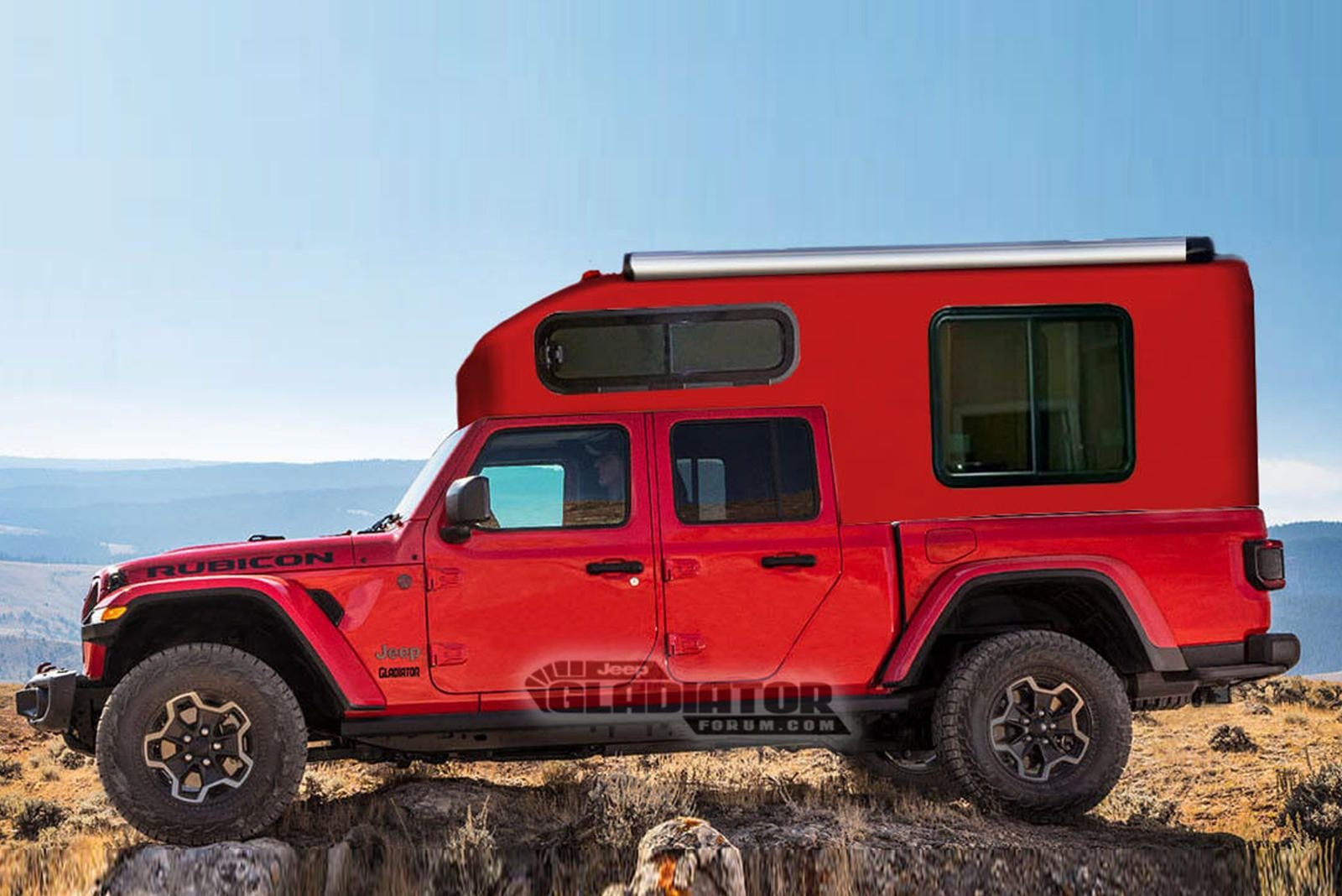 Get Ready For Jeep Gladiator Overland Adventures Anyone From