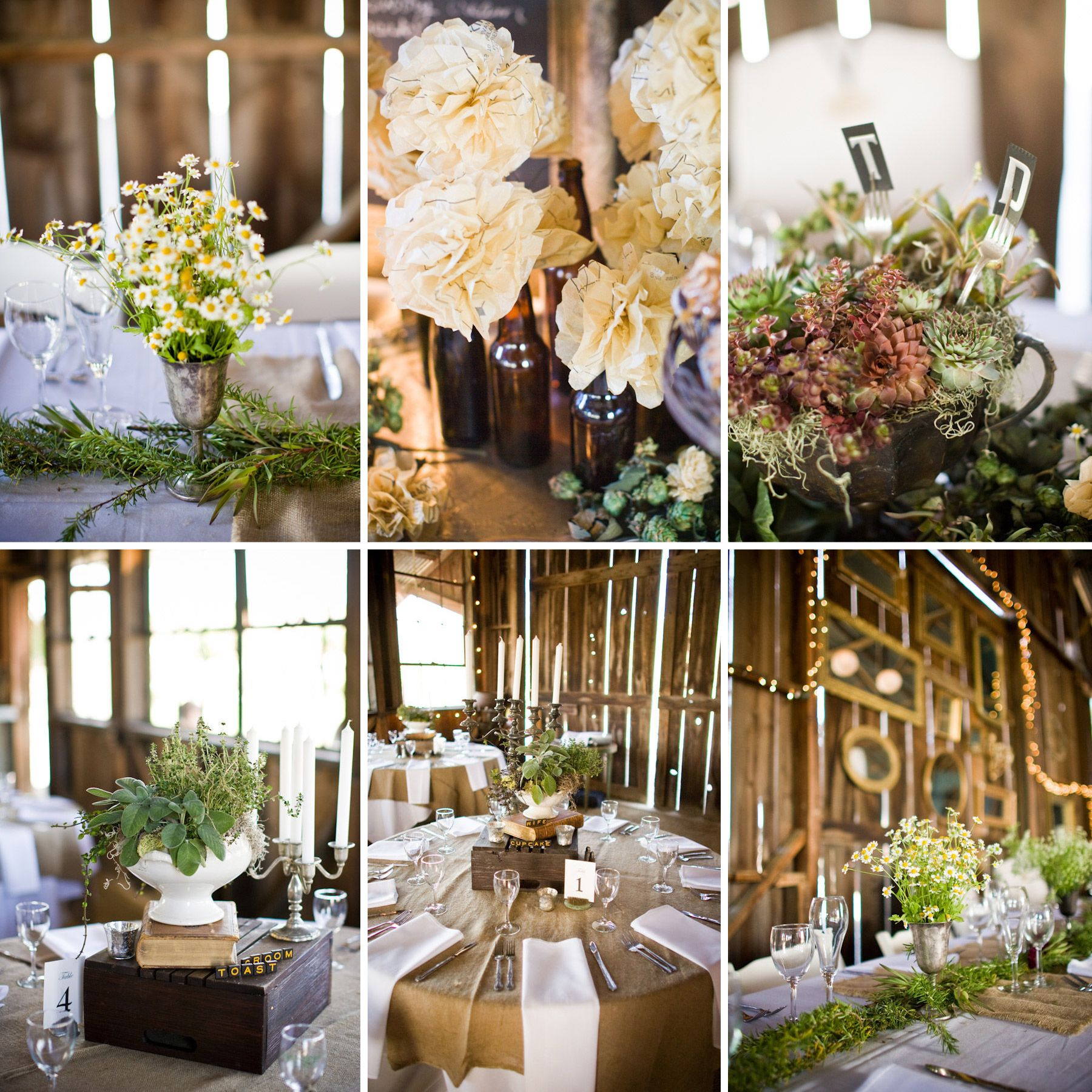 Real Weddings: Chic Western Wedding