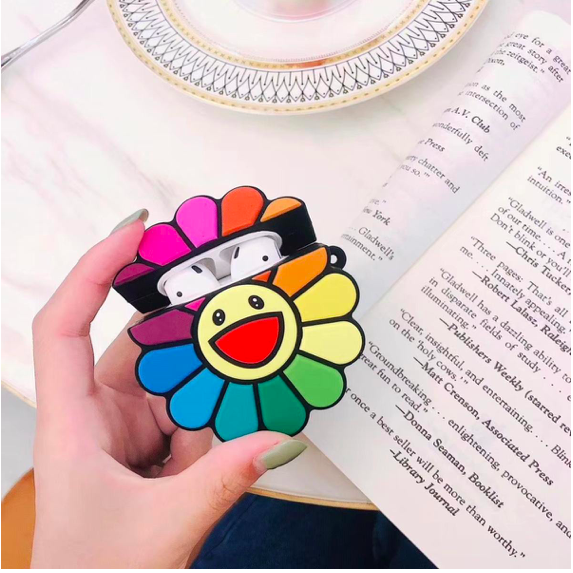 Rainbow Flower Airpods Case Cute Ipod Cases Airpod Case Phone Case Accessories