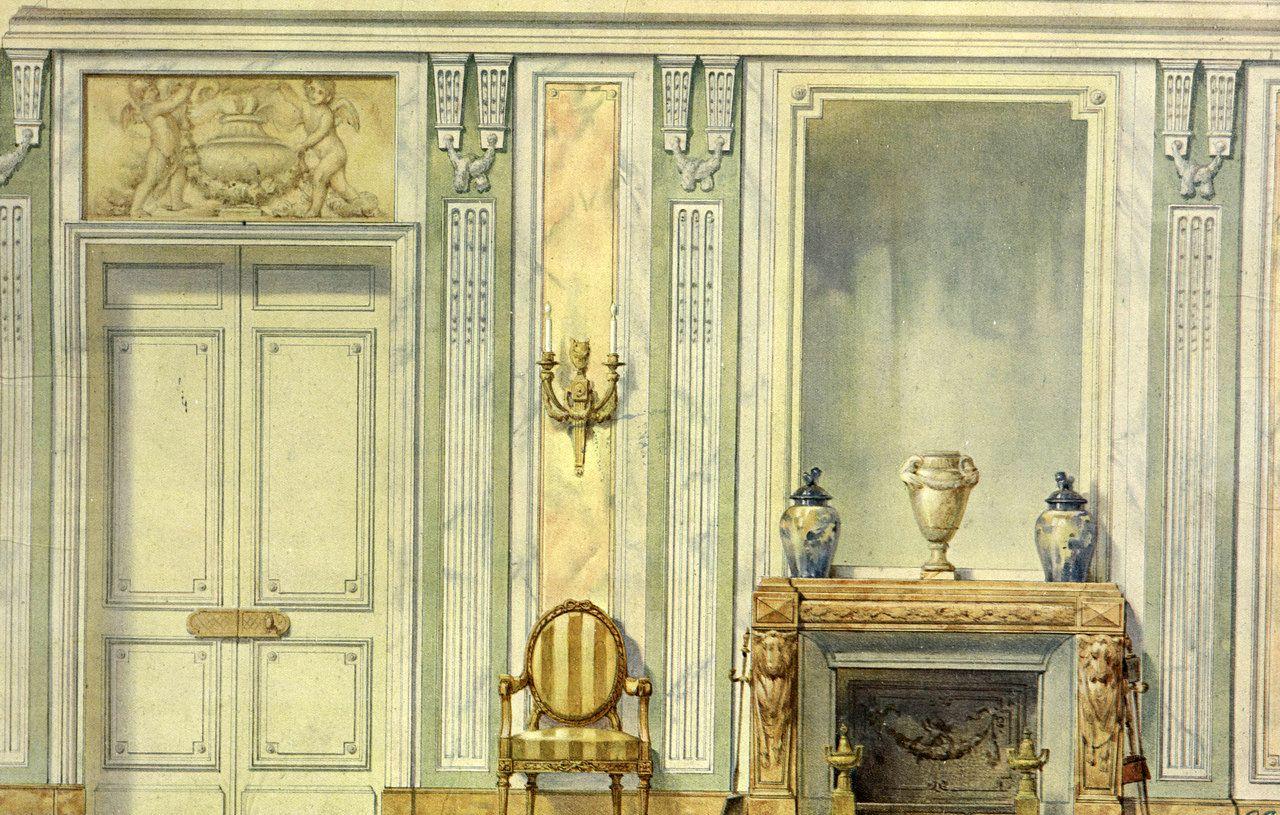 Georges Rémon - Décorateur - Planches Couleur - Cheminée - Vers 1900