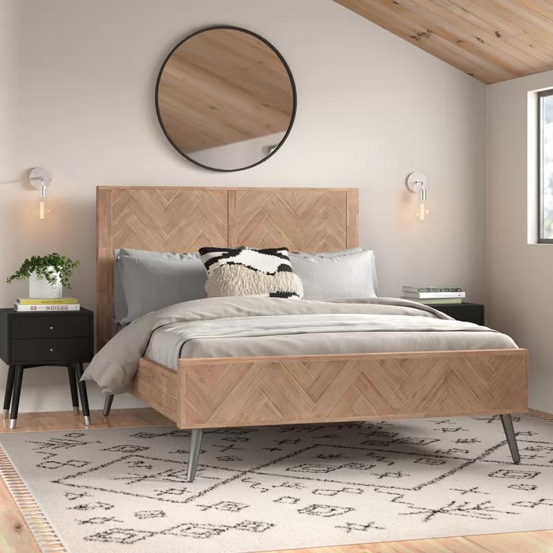 Corbin Platform Bed Upholstered Platform Bed Furniture Wood