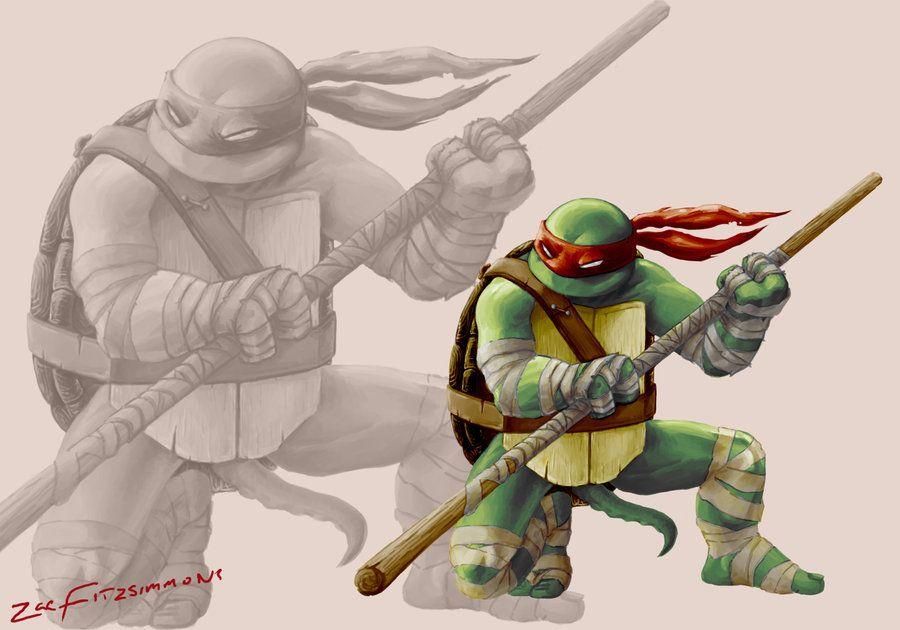 Hamato Donatello by Backflipsimmons on deviantART