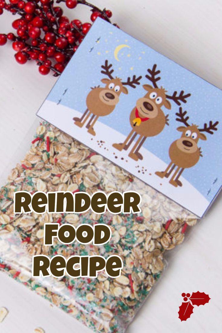 Reindeer Food Recipe Christmas