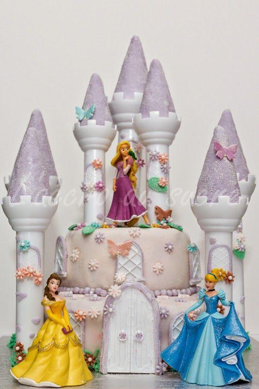 Kit pour gateau chateau princesse