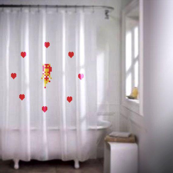 Zelda Fairy Shower Curtain In 2020 Curtains Shower Curtain