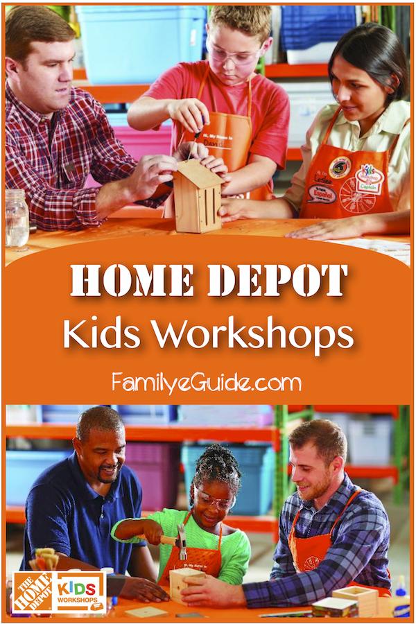 Home Depot Kids Workshop Family Eguide Kids Workshop Home Depot Kids Workshop Kids Activities At Home