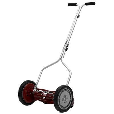 American Lawn Mower Company 14 In Manual Walk Behind Reel Lawn Mower Reel Lawn Mower Lawn Mower Lawn Mower Tractor