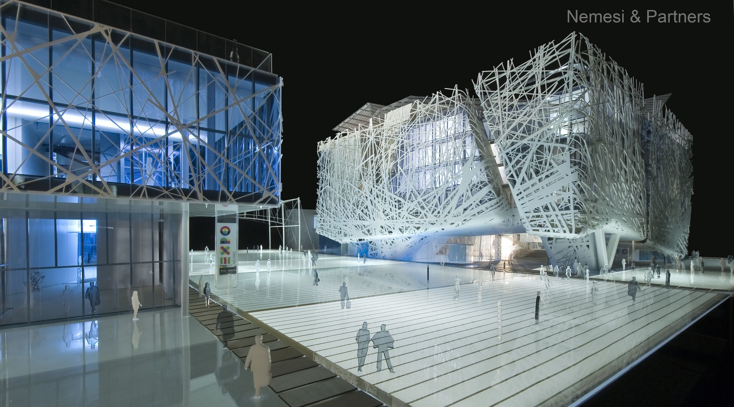 The future Italy Pavilion (by Nemesi & Partners Srl, Proger Spa