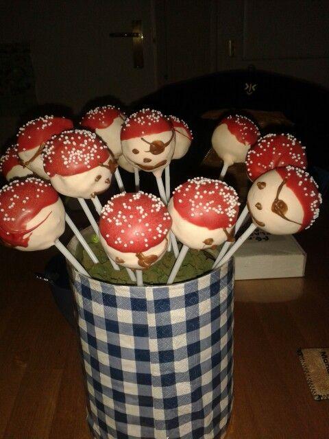 Piraten cakepops