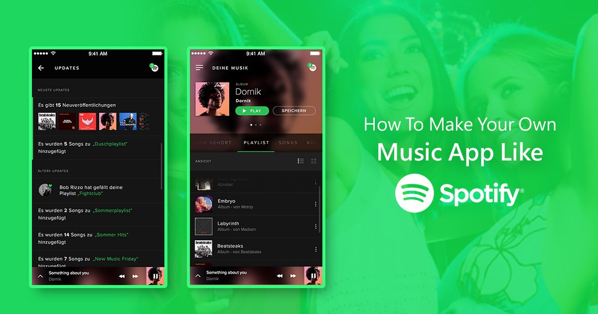 How to make your own music app like spotify in 2020