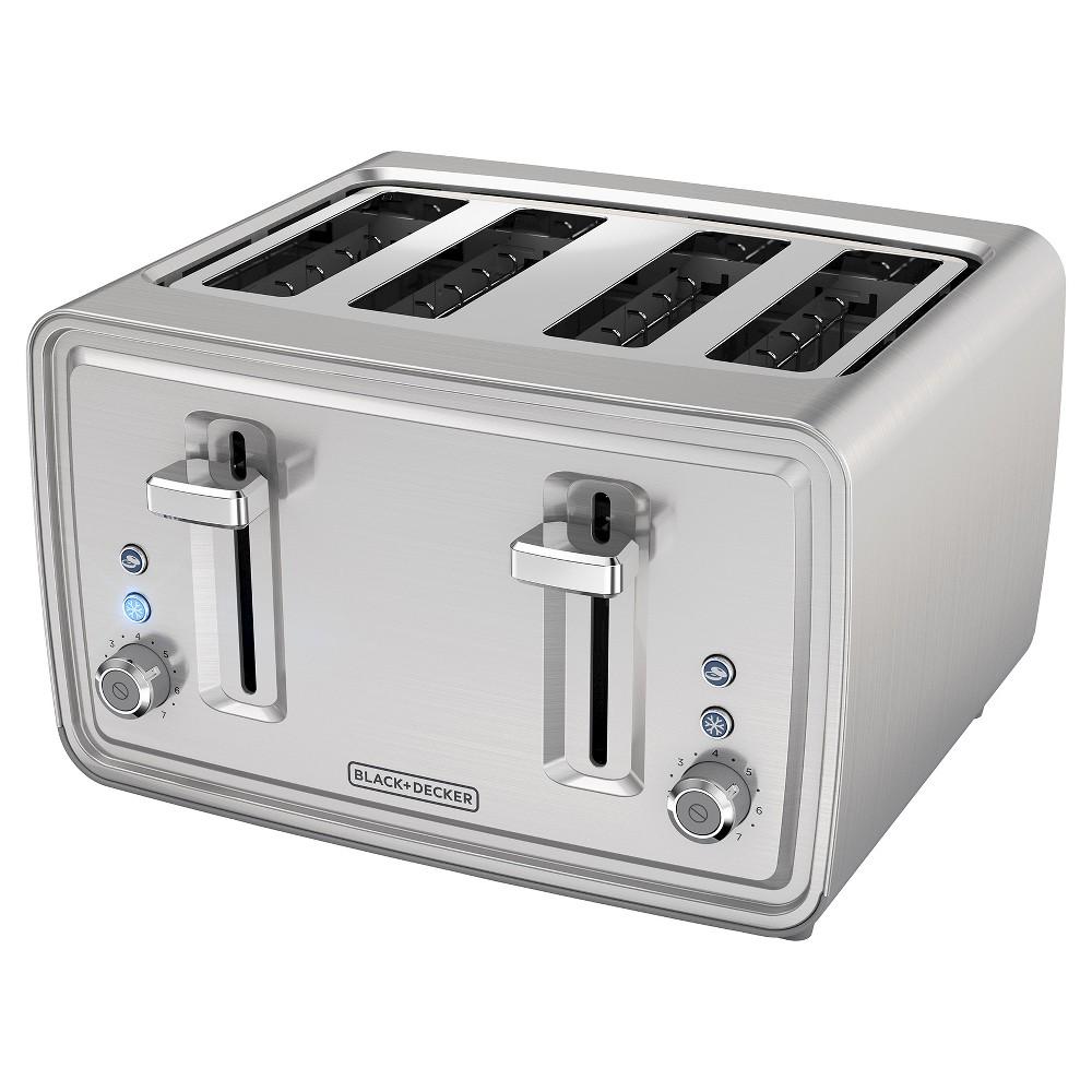 Blackdecker 4 slice toaster stainless steel tr4900ssd
