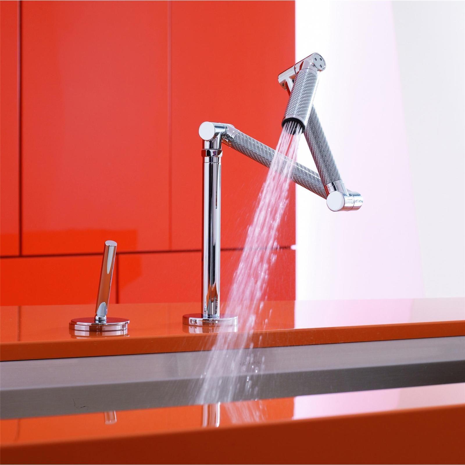 Amazing Flexible Kitchen Sink By Kohler