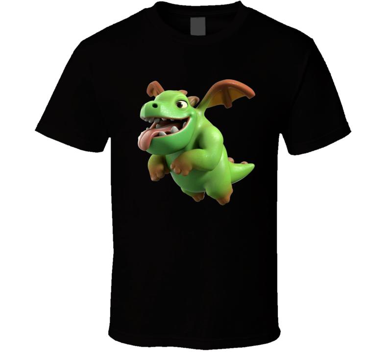 Clash Royale Baby Dragon Card Ios Video Game App Fan Logo T Shirt Gift Trending Design T Shirt App Baby Card Clash Desi Tshirt Logo Baby Dragon Shirt Gift