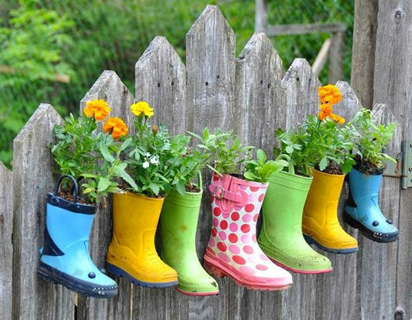 Lustige Gartendeko Selber Machen Diy Pflanzgefäße Grünzeug