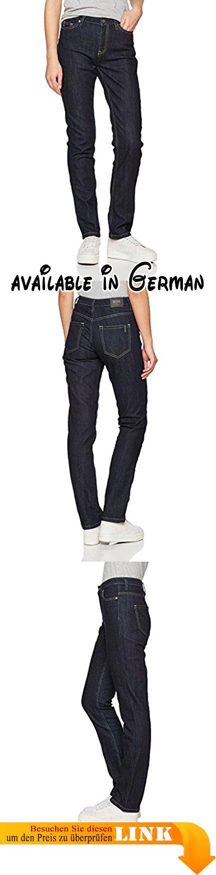 Big Star Denim Damen Straight Jeans Linda Regular Hoher Bund Blau (Dark  Wash 615)
