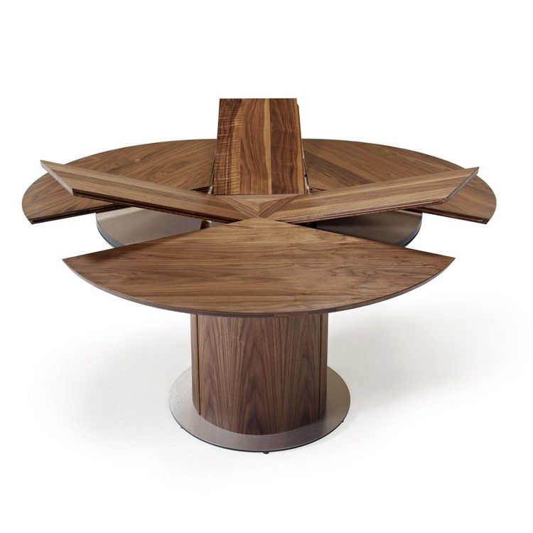 Show Details For Skovby Round Expanding Dining Table Sm 32