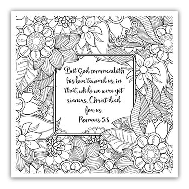 Free Christian Coloring Pages for Adults - Roundup | Adult Coloring ...