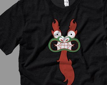 Aku T Shirt Premium Cotton Clothing Samurai Jack Cartoon TV Show In All Sizes Kids Small Adult
