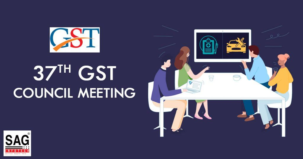 37th Gst Council Meeting Updates On Return Filing Slab Rate
