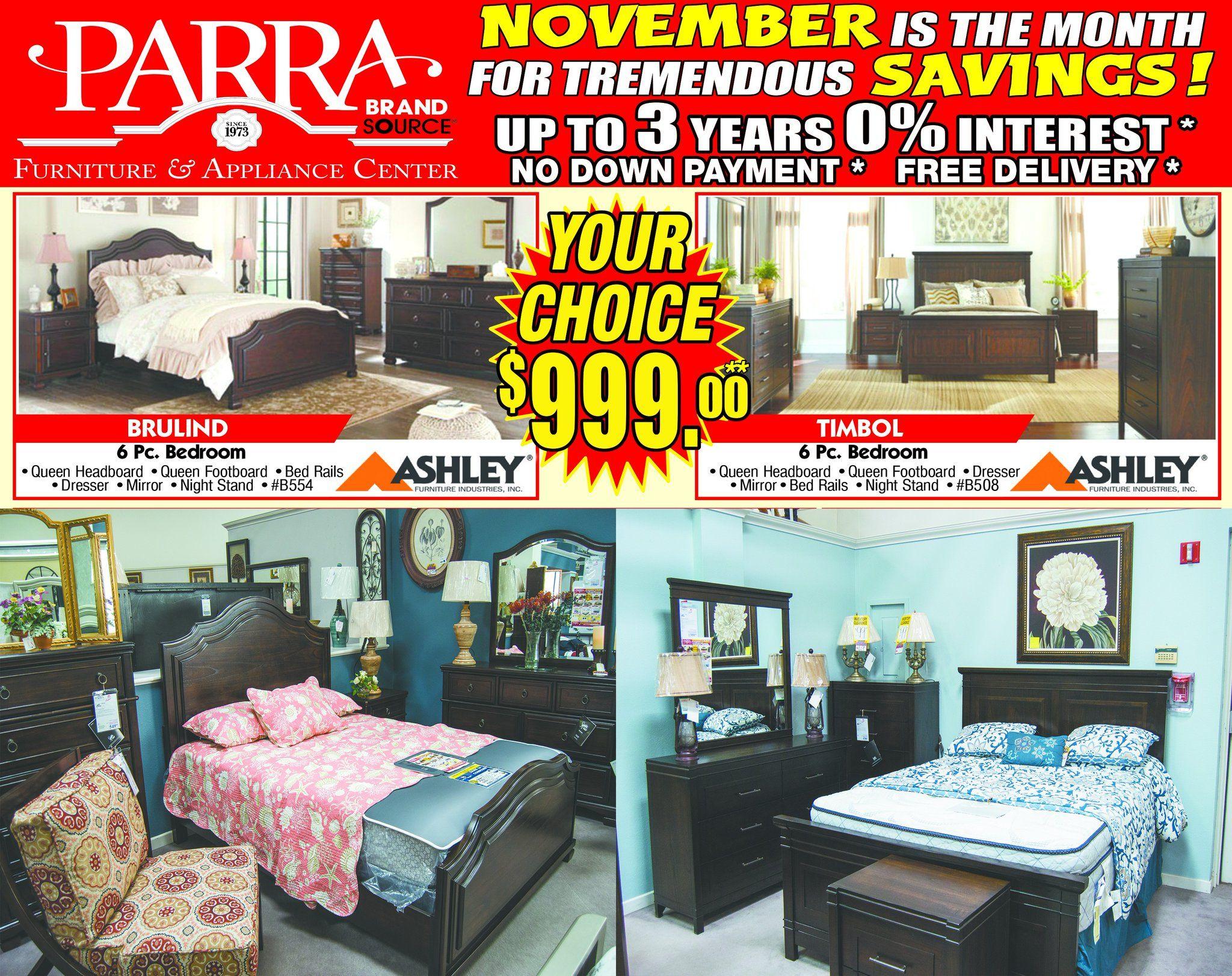#BlackFriday Special! Full Bedroom For Only $999