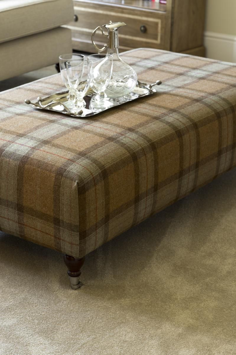 This Beautiful Tartan Footstool/coffee Table Is A Great Talking Point Can  Will Really Bring