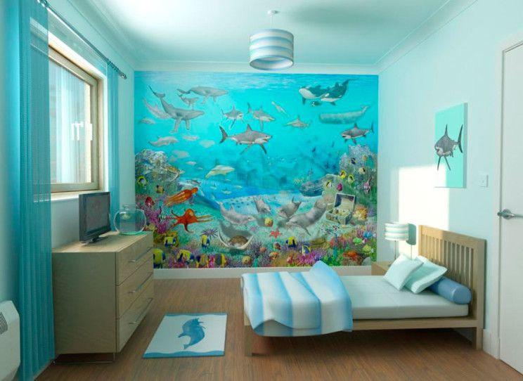 Underwater bedroom decor