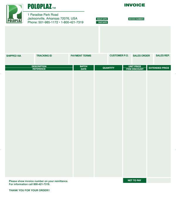 PoloPlaz Invoice (Updated 10-15-08) copy 9 Contoh Desain Invoice - invoice copy
