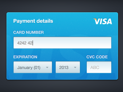 Credit Card Form  Ui Ux User Interface And Ui Patterns