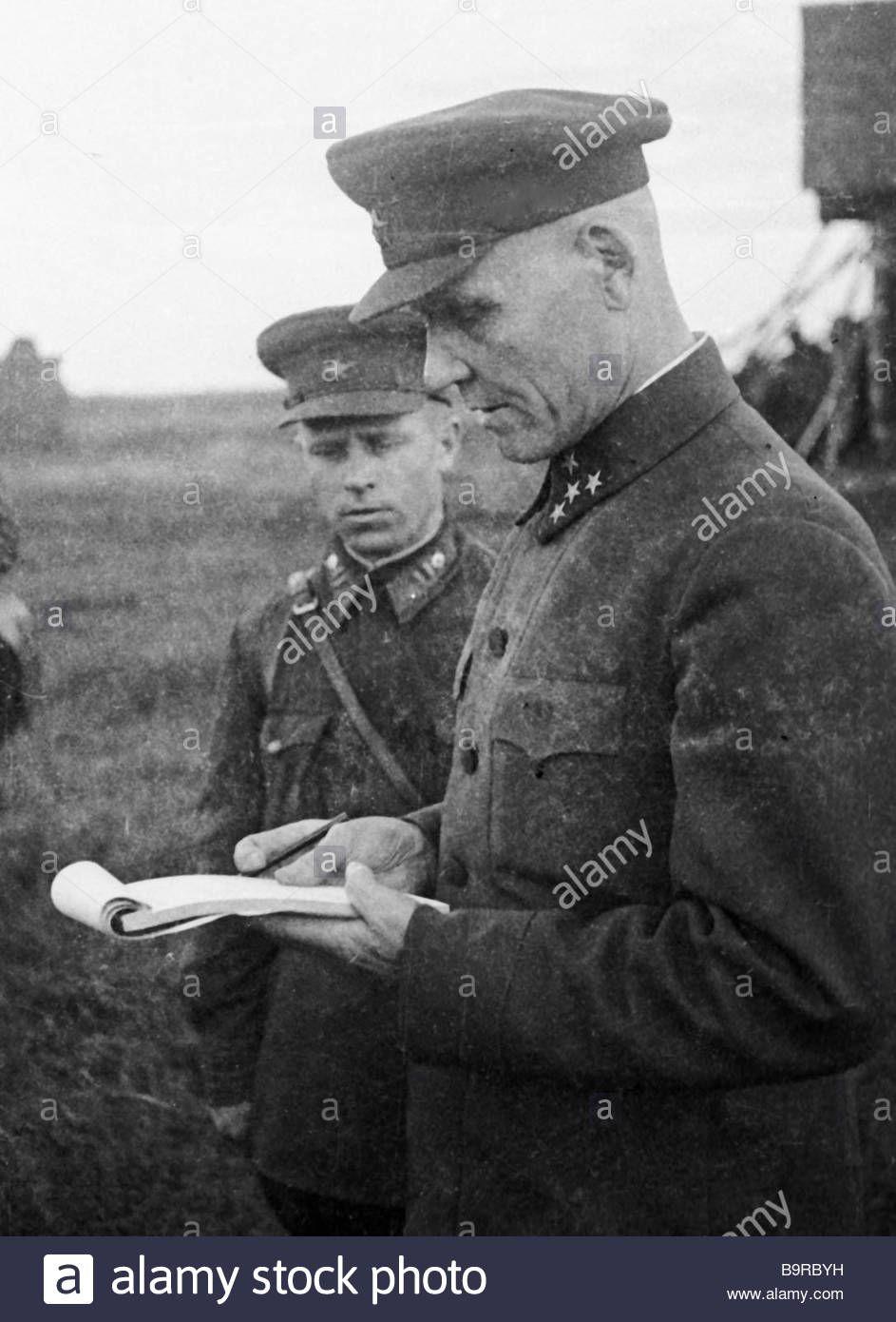 54b5cb1b7 Kalinin Front Commander Colonel General Ivan Konev | Marshal of the ...