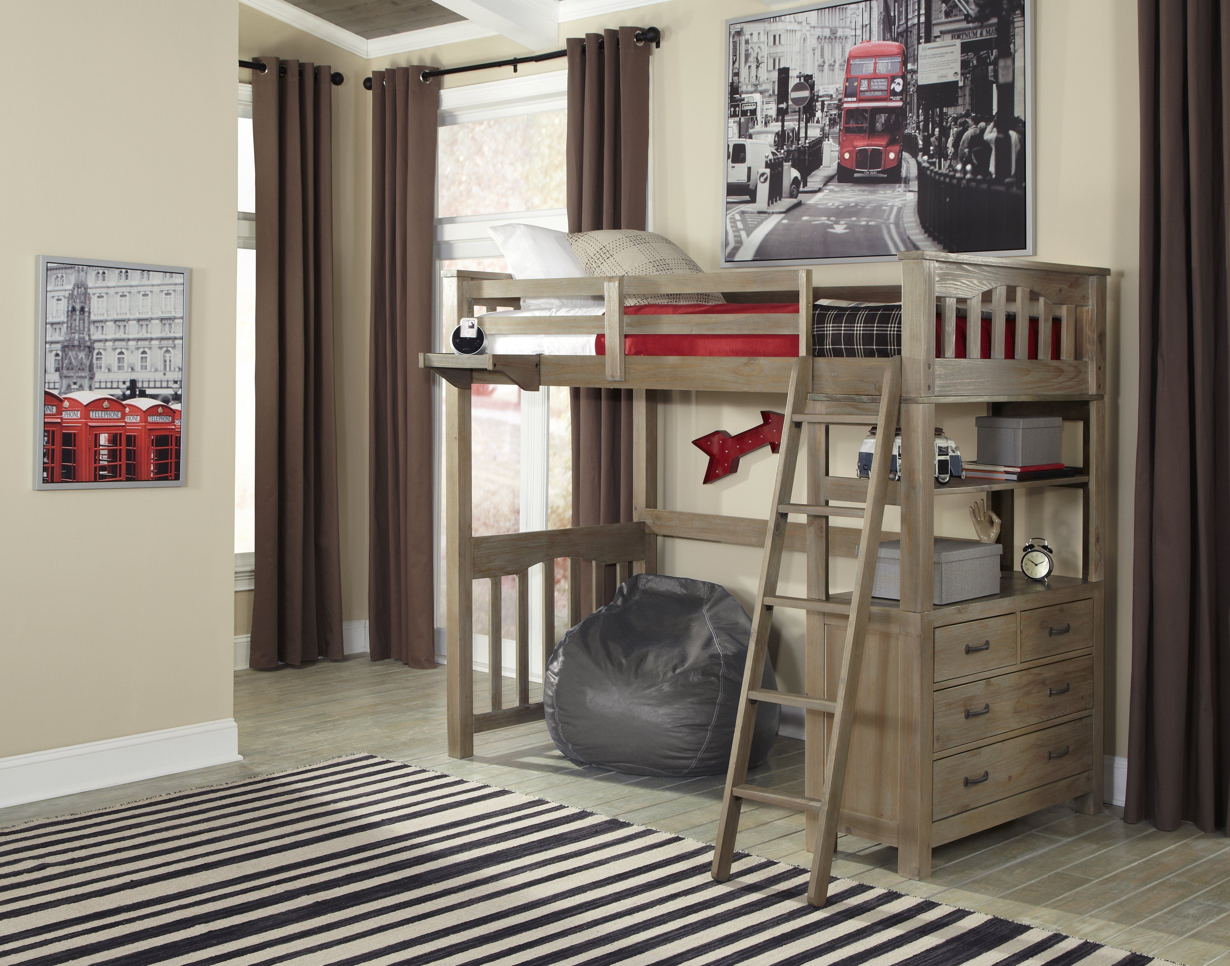 Ne Kids Highlands Collection Loft Bed Set  $1484 @Hayneedle