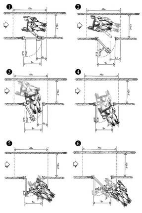 accessibilit b timent bhc neufs portes et sas circulaire accessibilit normes ailleurs. Black Bedroom Furniture Sets. Home Design Ideas