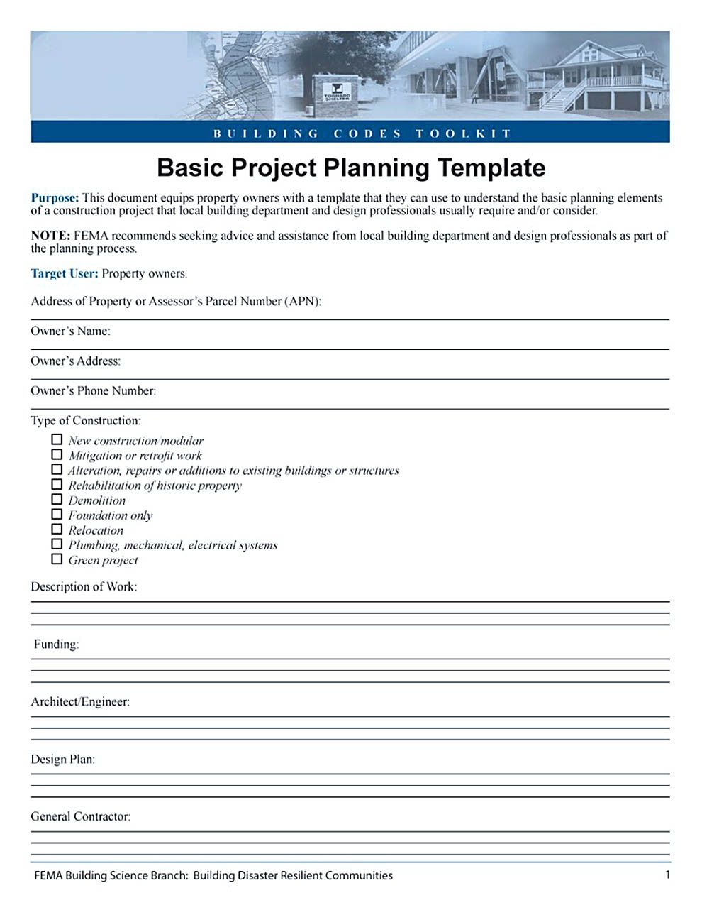 project cost estimate and budget template types of project budget