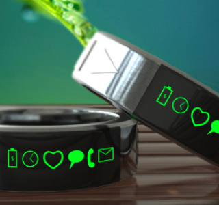 Smarty Ring: Okay, so we know this one doesn't exist for consumer consumption yet, but how cool is it? It just has to be on our Nerd Christmas List. We can't wait!
