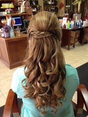 Hairbyadrianne Braid Updo Prom Hairstyle Volume Bump Curls Hair Styles Hair Beauty Competition Hair