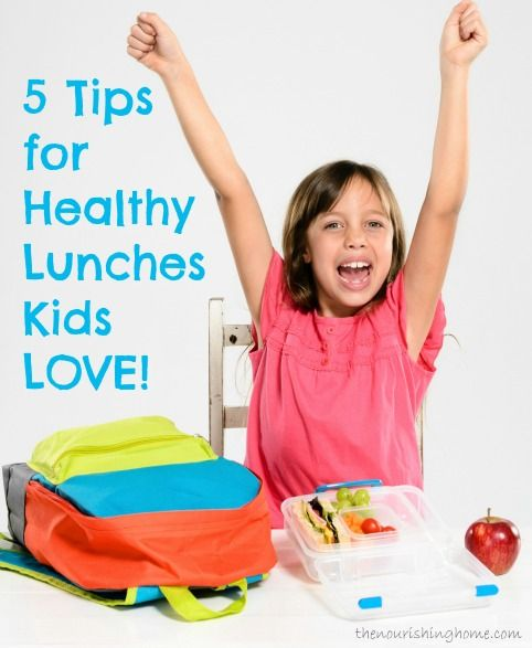 5 Tips for Planning Healthy Lunches Kids Love! - Keeper of the Home